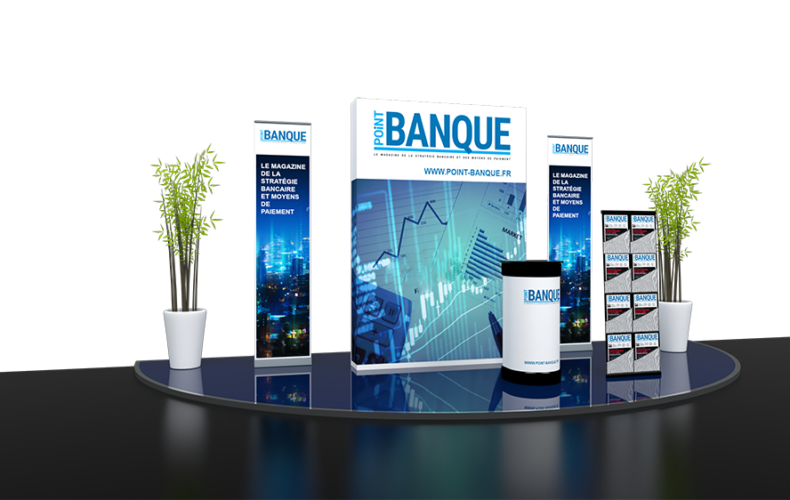 Stand 9m2 Point Banque