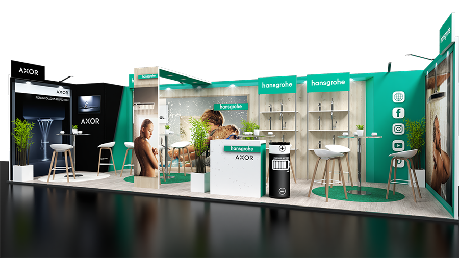 Stand 24m2 Hansgrophe