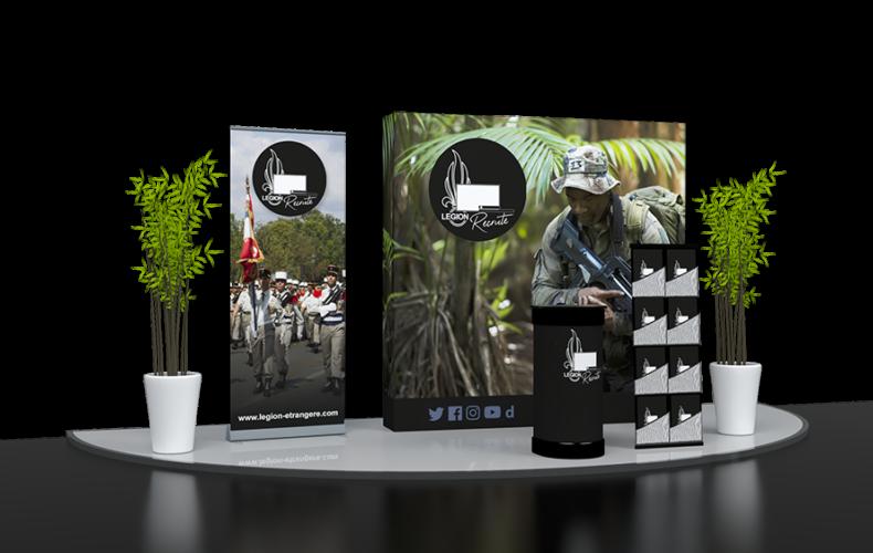 legion-etrangere-stand kit-expo