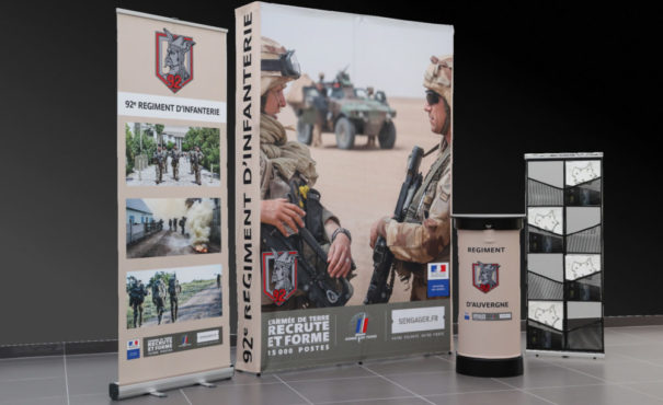 Nos réalisations Kit Expo 92ème RI