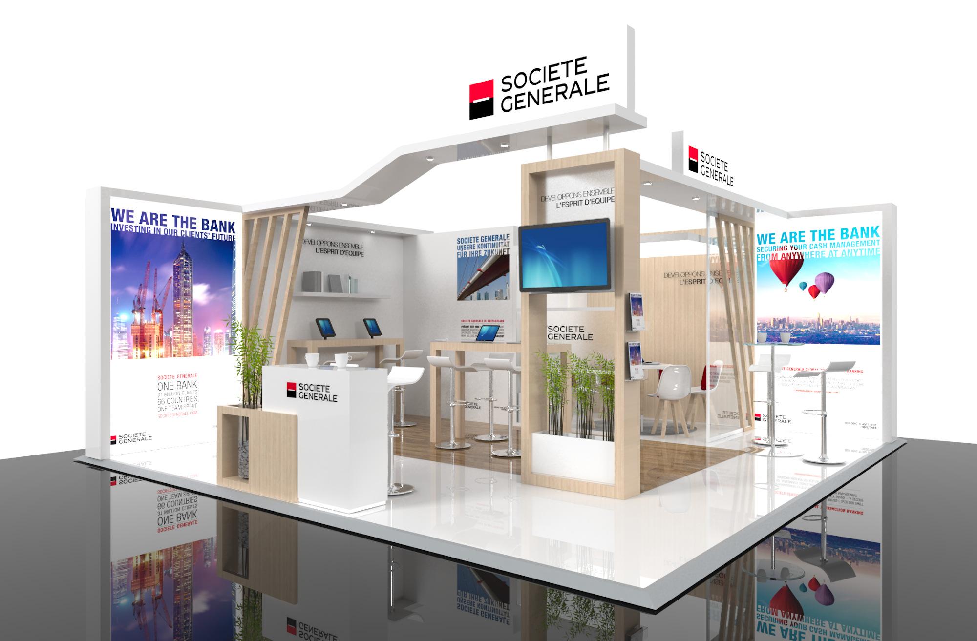 Stand Créa Expo Société Générale