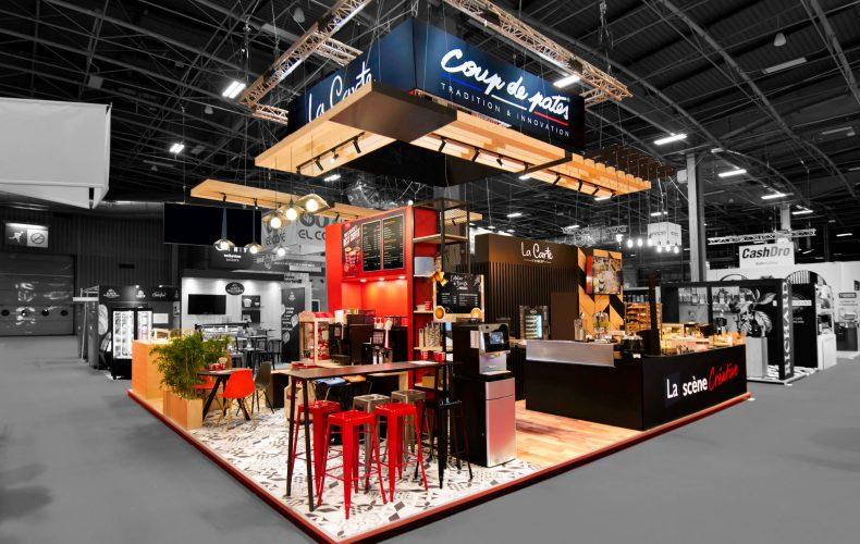 Nos réalisations Créa Expo ARYZTA 81 m²